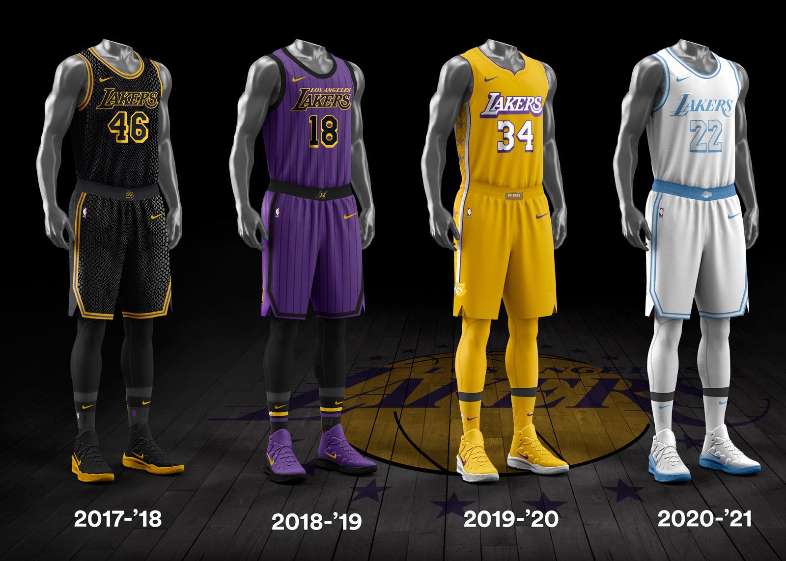 NBA City Edition Uniforms Complete History - Nike News