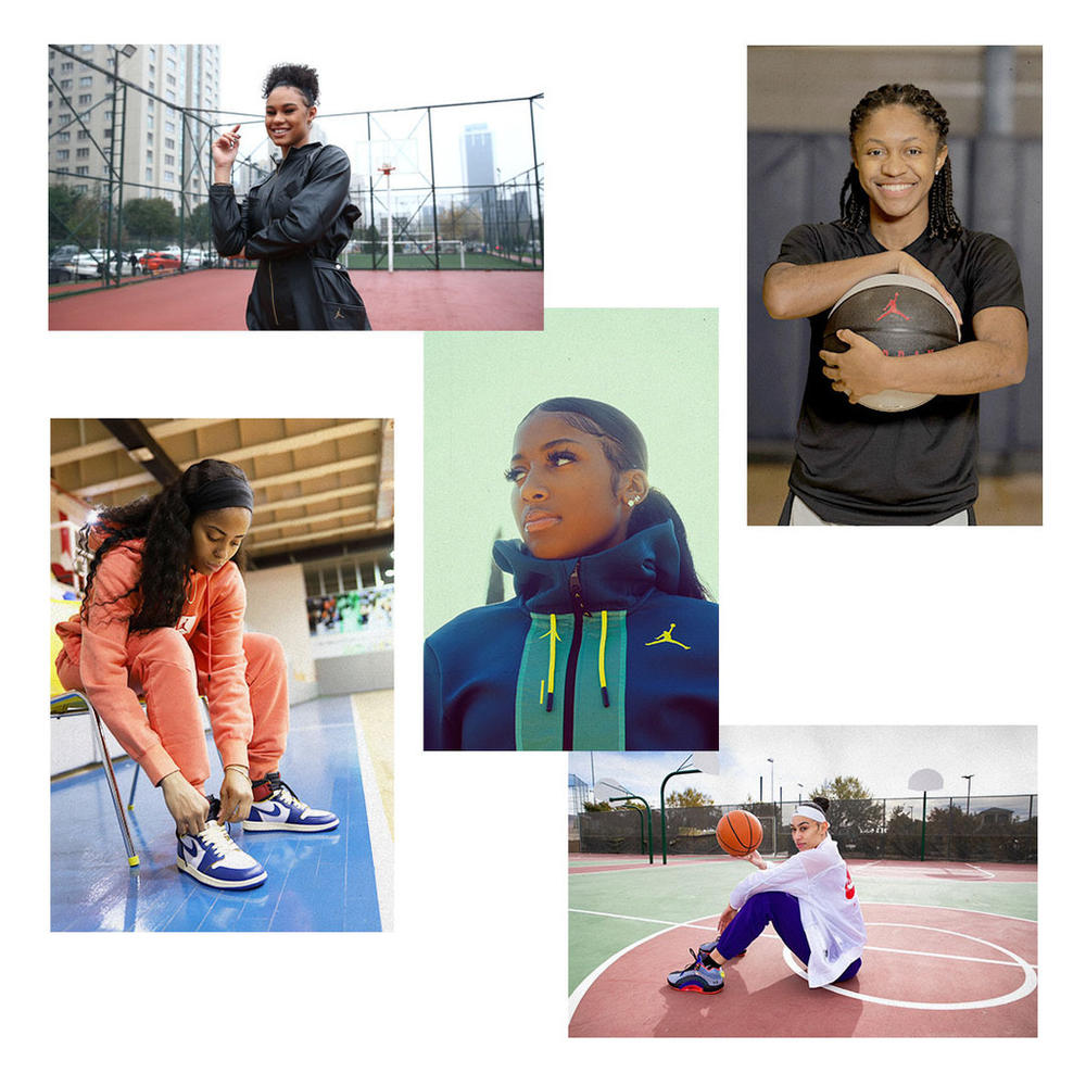 Five WNBA Athletes Join the Jordan Brand Family