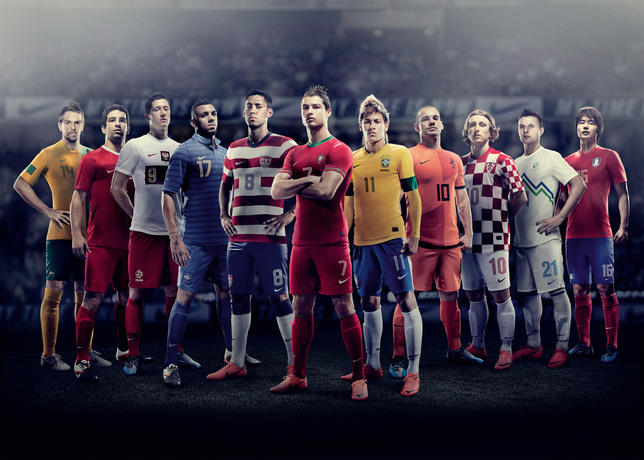icemagazine  NIKE FOOTBALL UNVEILS NEW NATIONAL HOME KITS 769efe896