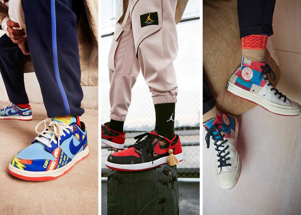 The 2021 NIKE, Inc. Chinese New Year Collection Goes to the Temple Fair