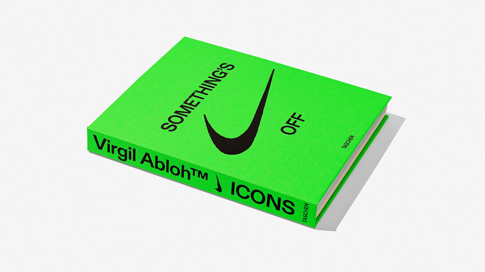 Nike Virgil Abloh Taschen ICONS Book 8