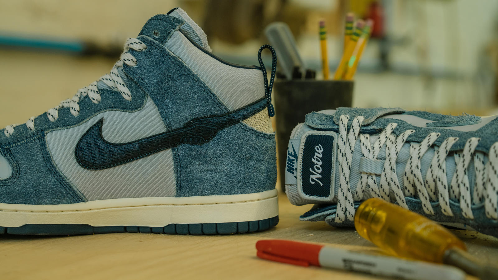 Nike x Notre Dunk High 5
