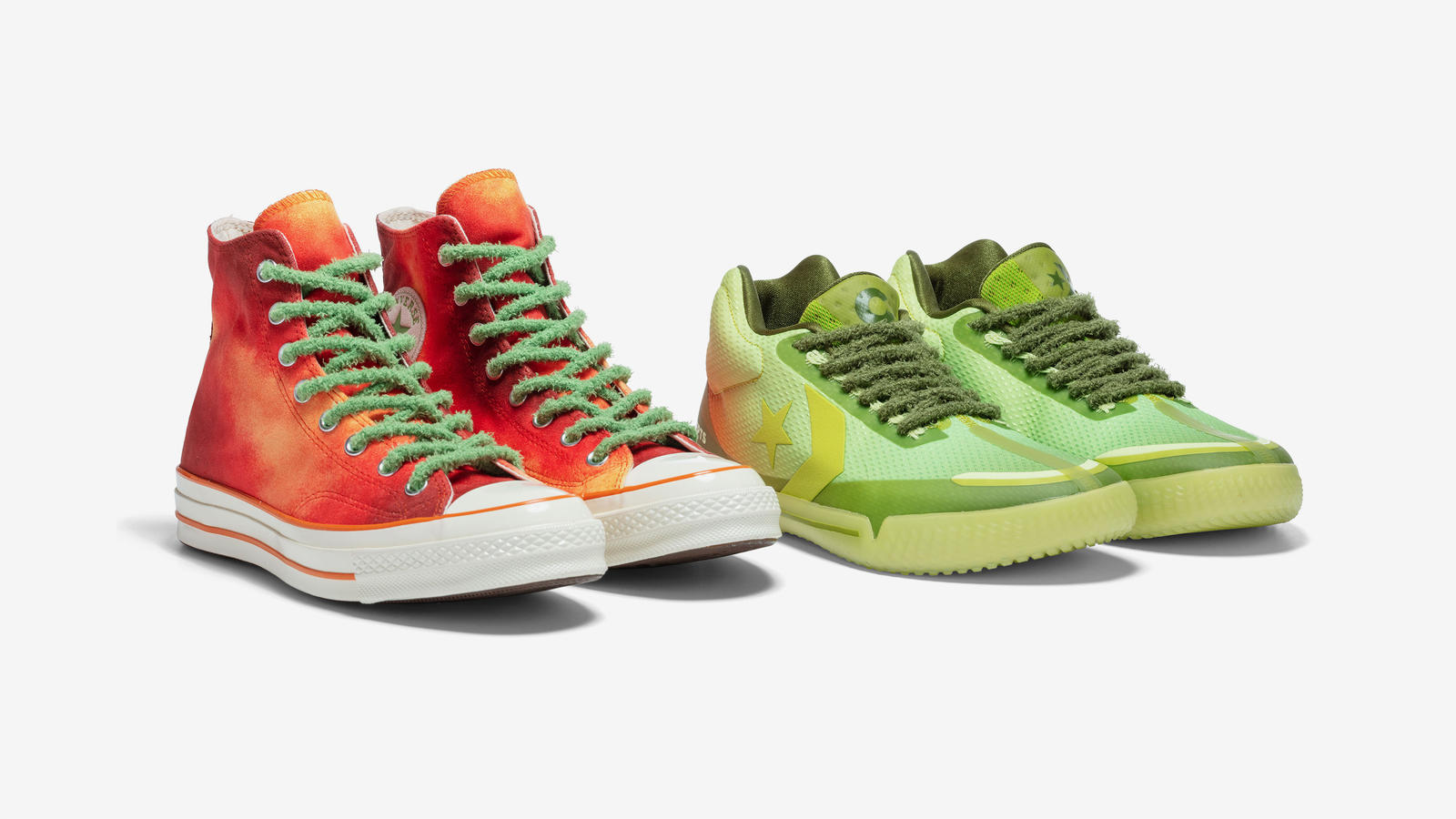 Converse x Concepts 'Southern Flame' All Star BB EVO and Chuck 70 2
