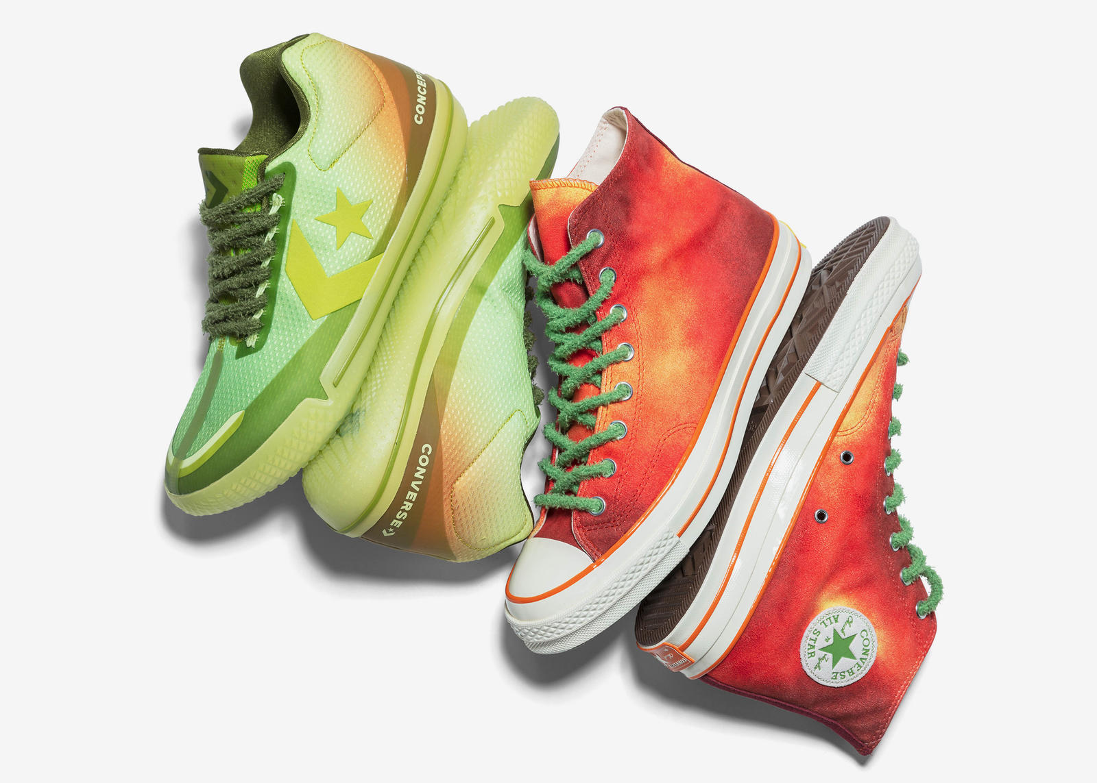 Converse x Concepts 'Southern Flame' All Star BB EVO and Chuck 70 3