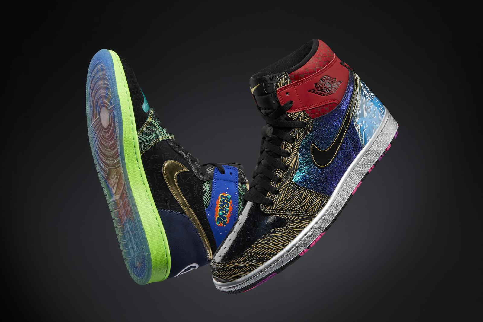 Nike Doernbecher Freestyle 2021 Air Jordan I What The Doernbecher 9