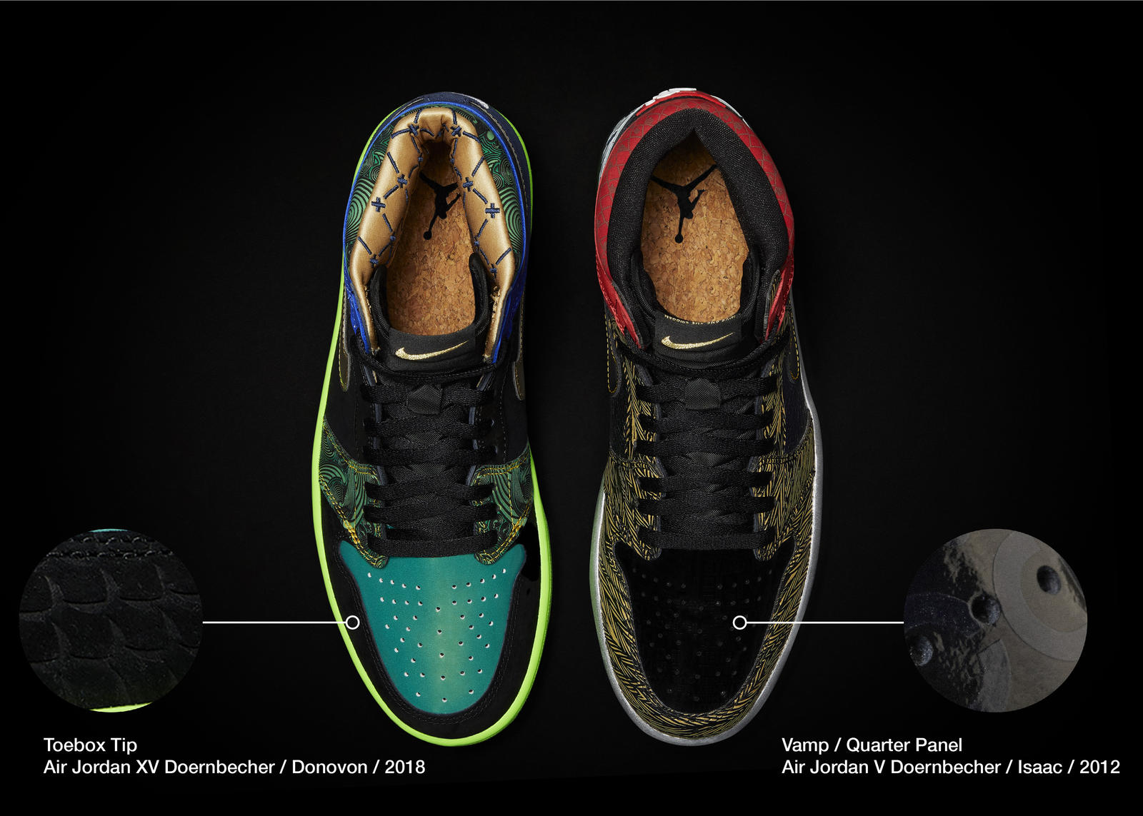 Nike Doernbecher Freestyle 2021 Air Jordan I What The Official Images Release Date 2