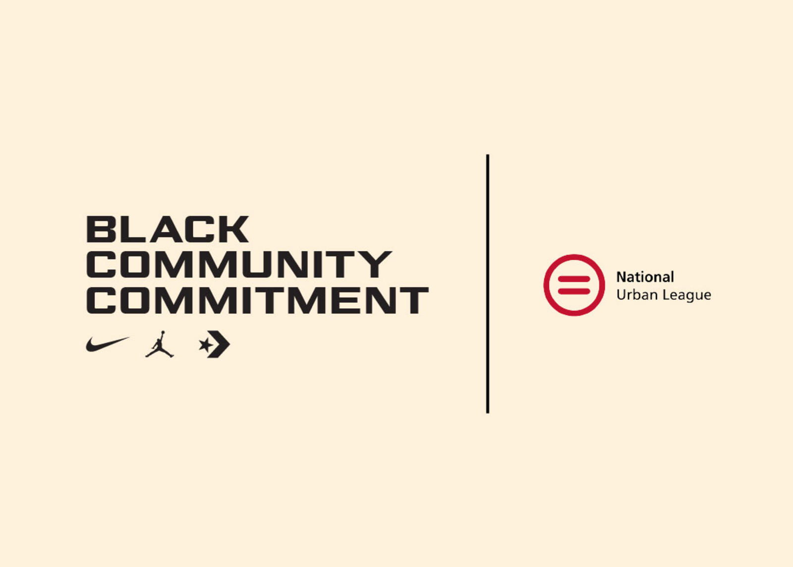Nike x National Urban League Black Community Commitment March 2021 0
