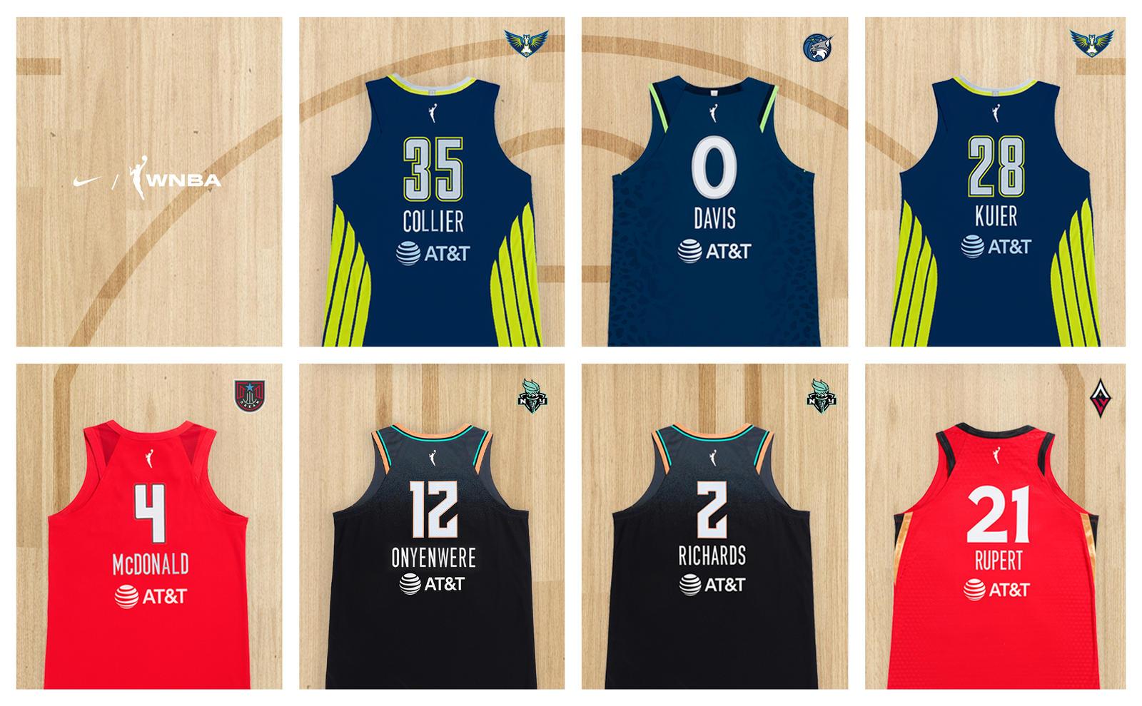 Nike 2021 WNBA Rooking Signings 6