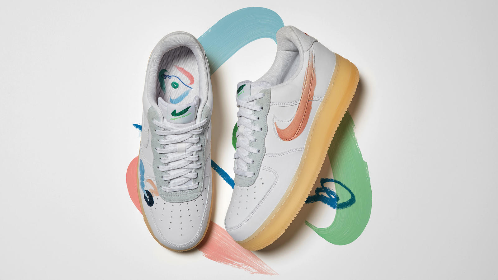 Nike Flyleather Collection Summer 2021 Air Force 1 Blazer Low Official Images Release Date 2