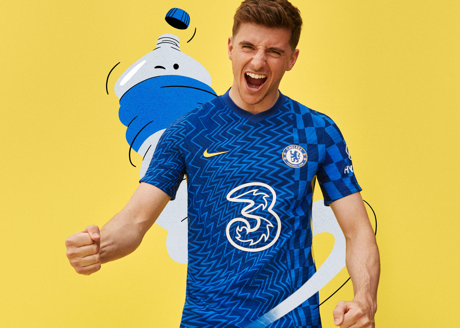 Chelsea 2021-2022 Home Kit 4