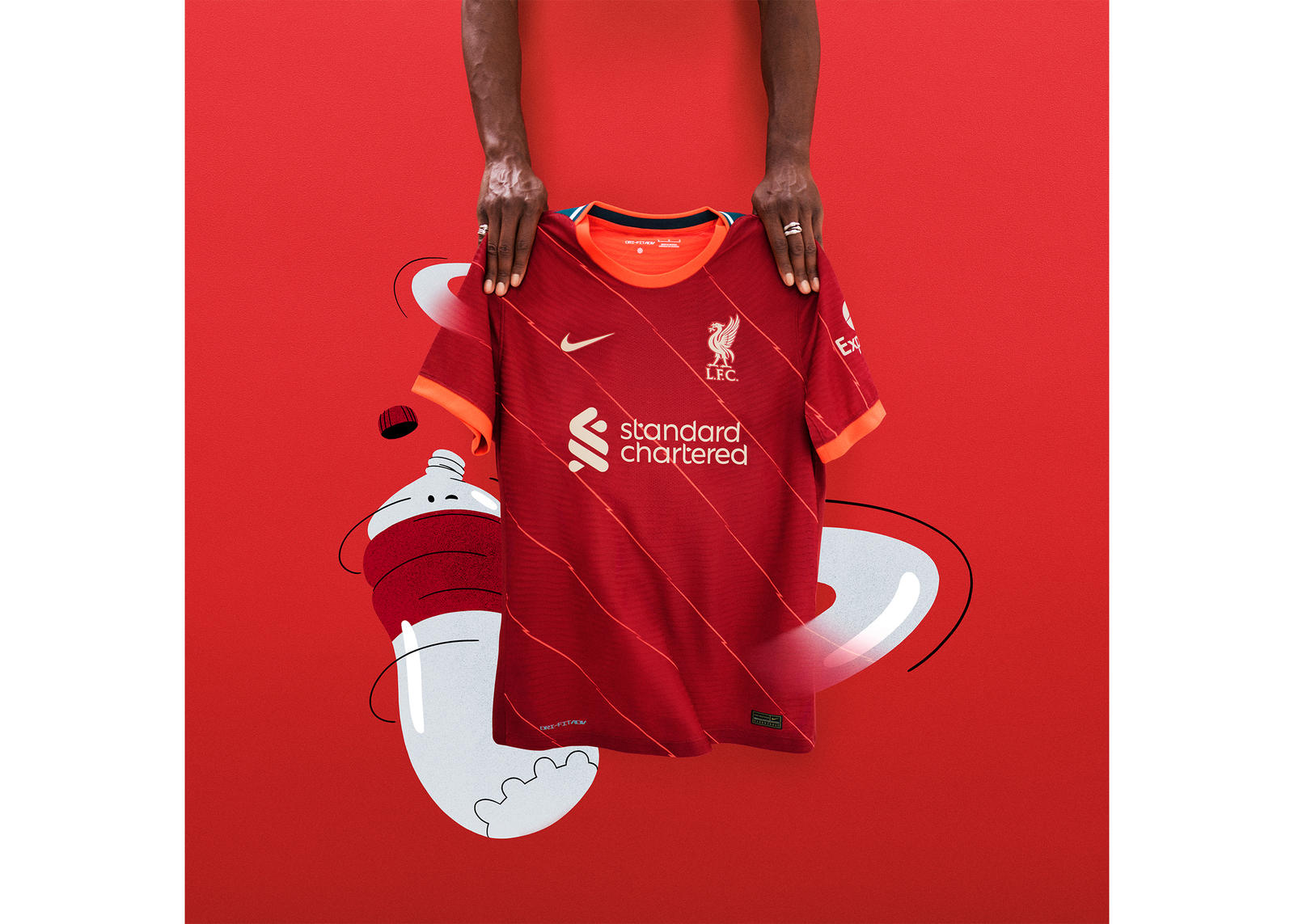 Liverpool FC 2021-22 Home Kit Official Images Release Date 1