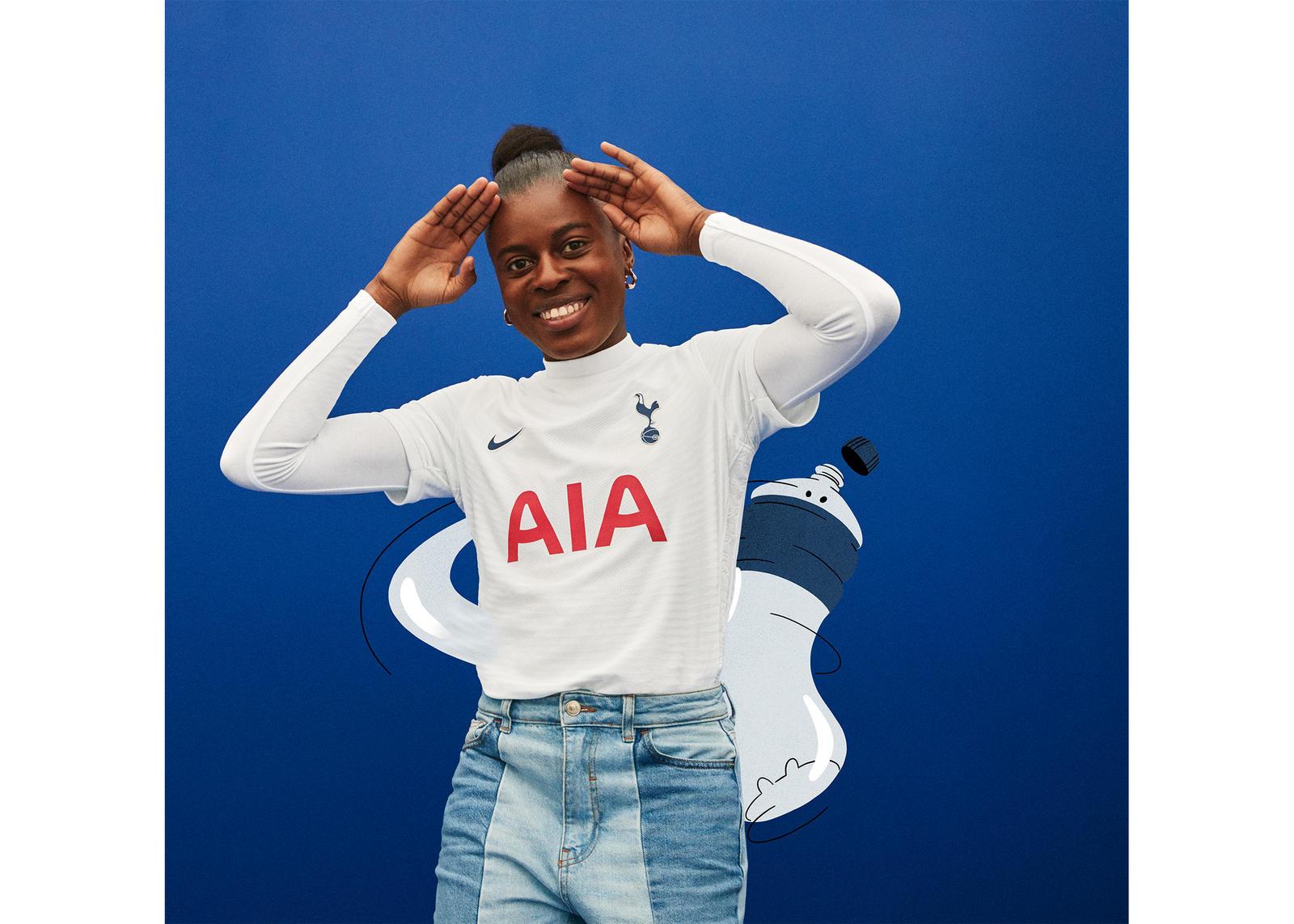 Tottenham Hotspur 2021-22 Home Kit Official Images 1