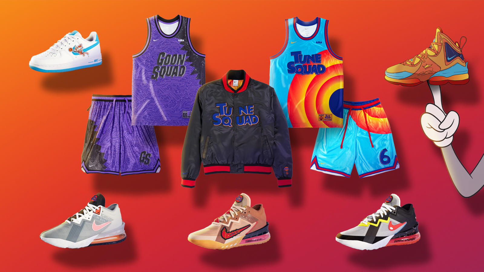 Space Jam: A New Legacy Footwear and Apparel 28