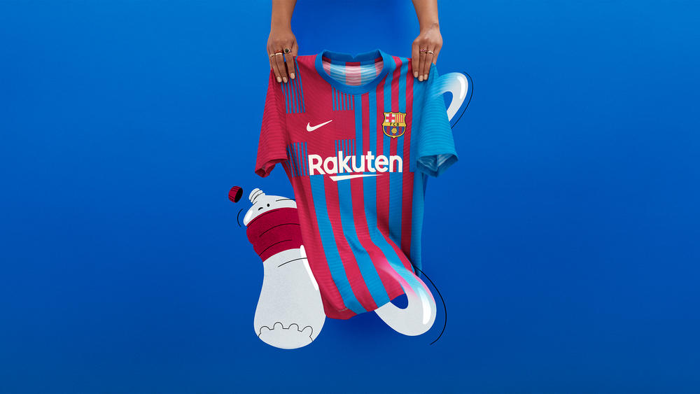 Modern-Day Style, Time-Tested Values Guide FC Barcelona's Home Kit