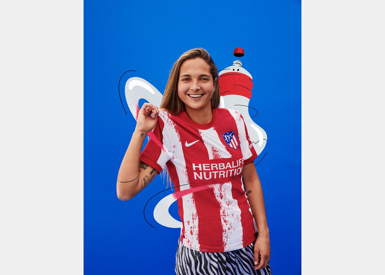 Atlético de Madrid 2021-22 Home Kit 1