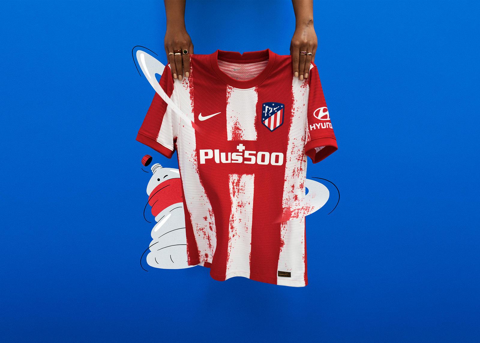 Atlético de Madrid 2021-22 Home Kit 3