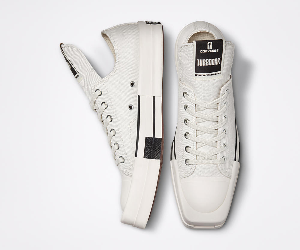 Converse and Rick Owens Announce DRKSHDW Collaboration