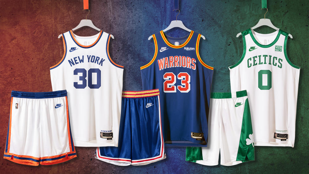 Nike Releases Classic Edition Uniforms for the NBA's 75th Anniversary Season