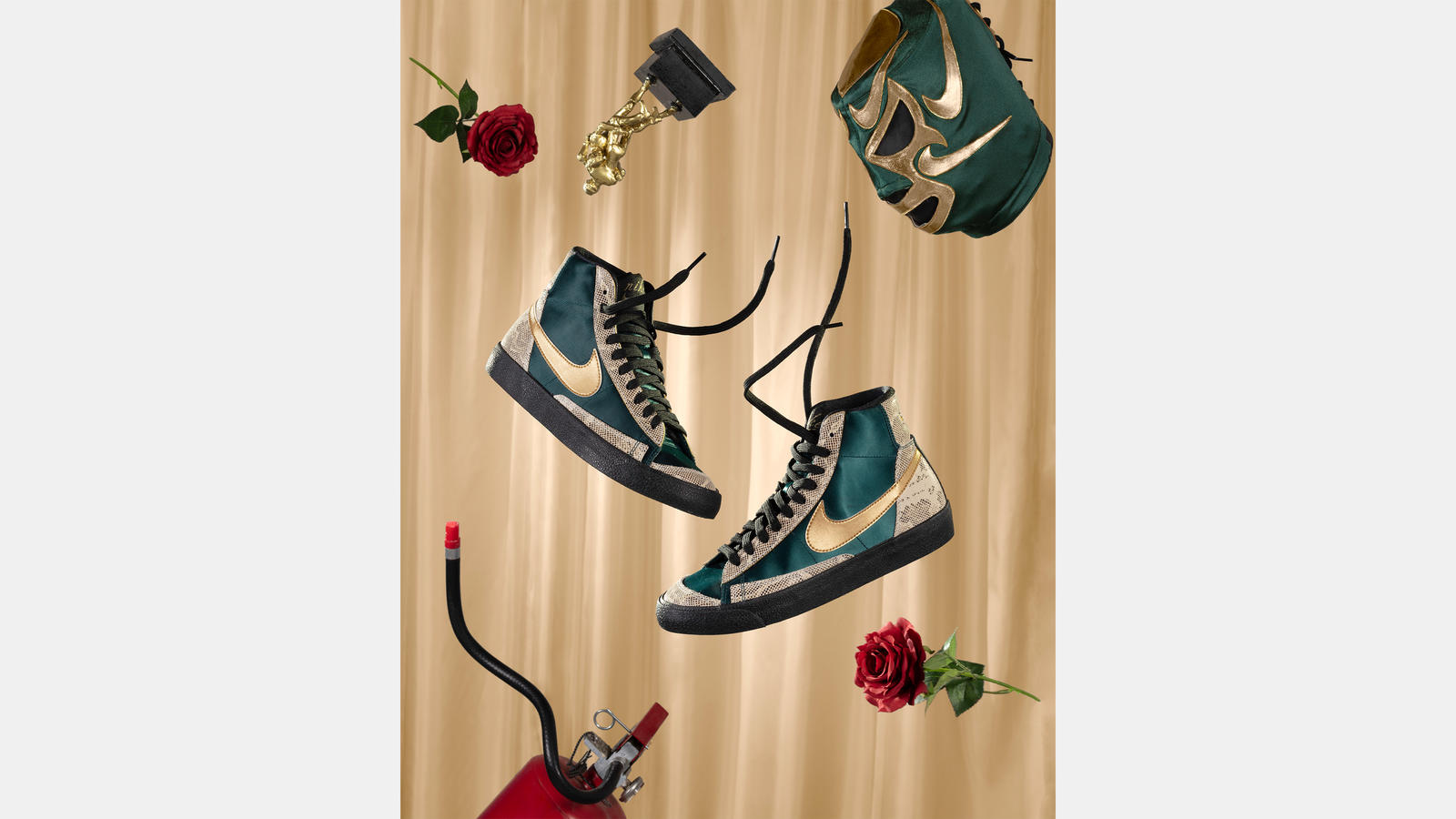 Nike Mexico Lucha Libre Day of the Dead Collection Official Images Release Date 6