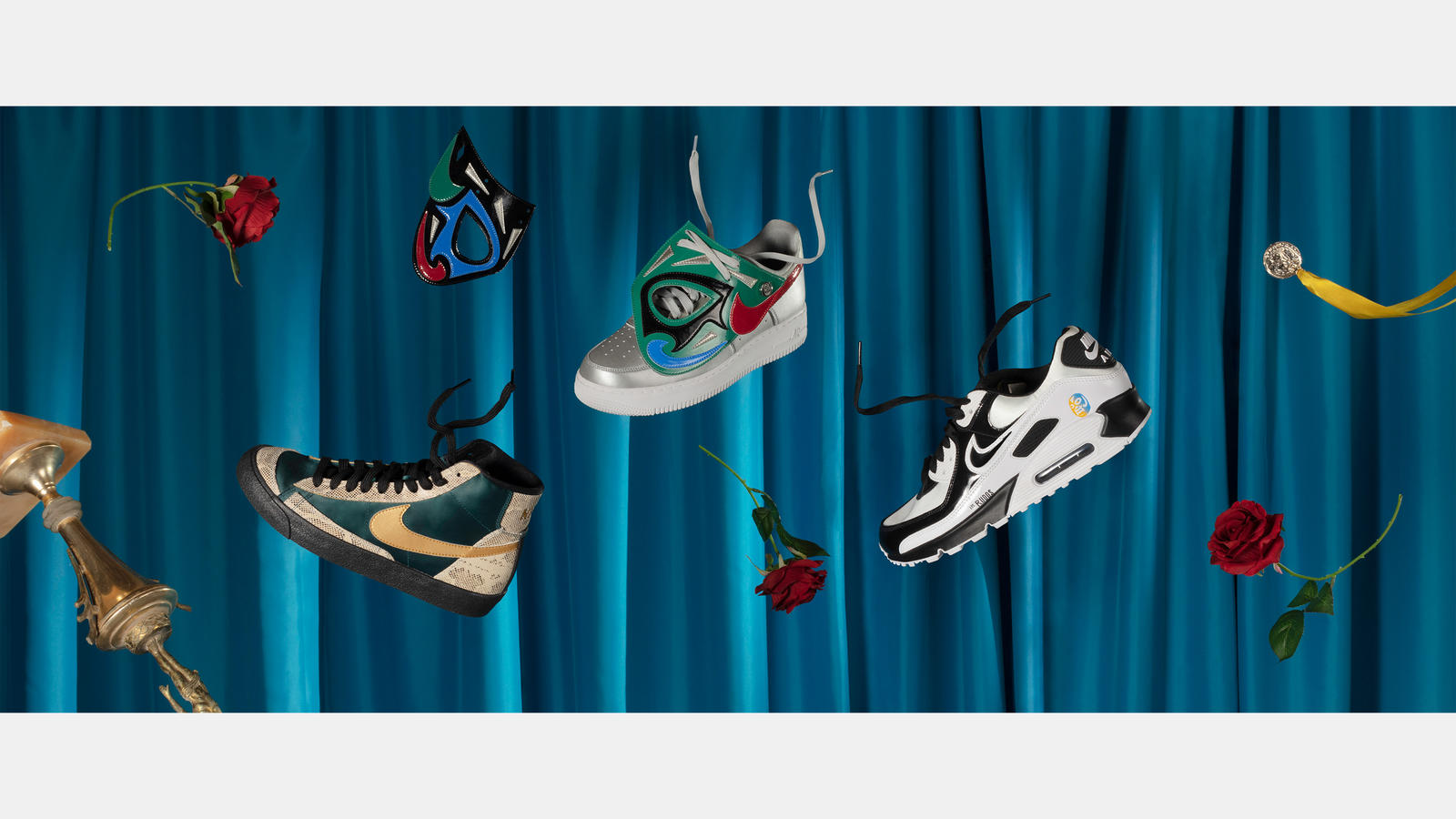 Nike Mexico Lucha Libre Day of the Dead Collection Official Images Release Date 8
