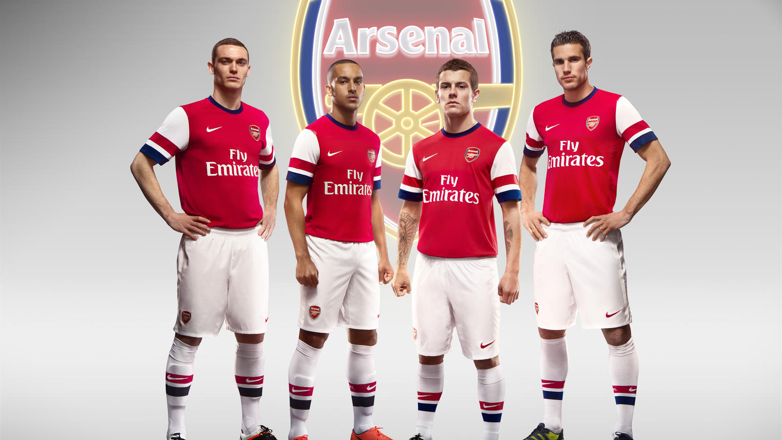new product cfaec 34ba6 Nike Football Unveils Arsenal Home Kit for Season 2012/13 ...
