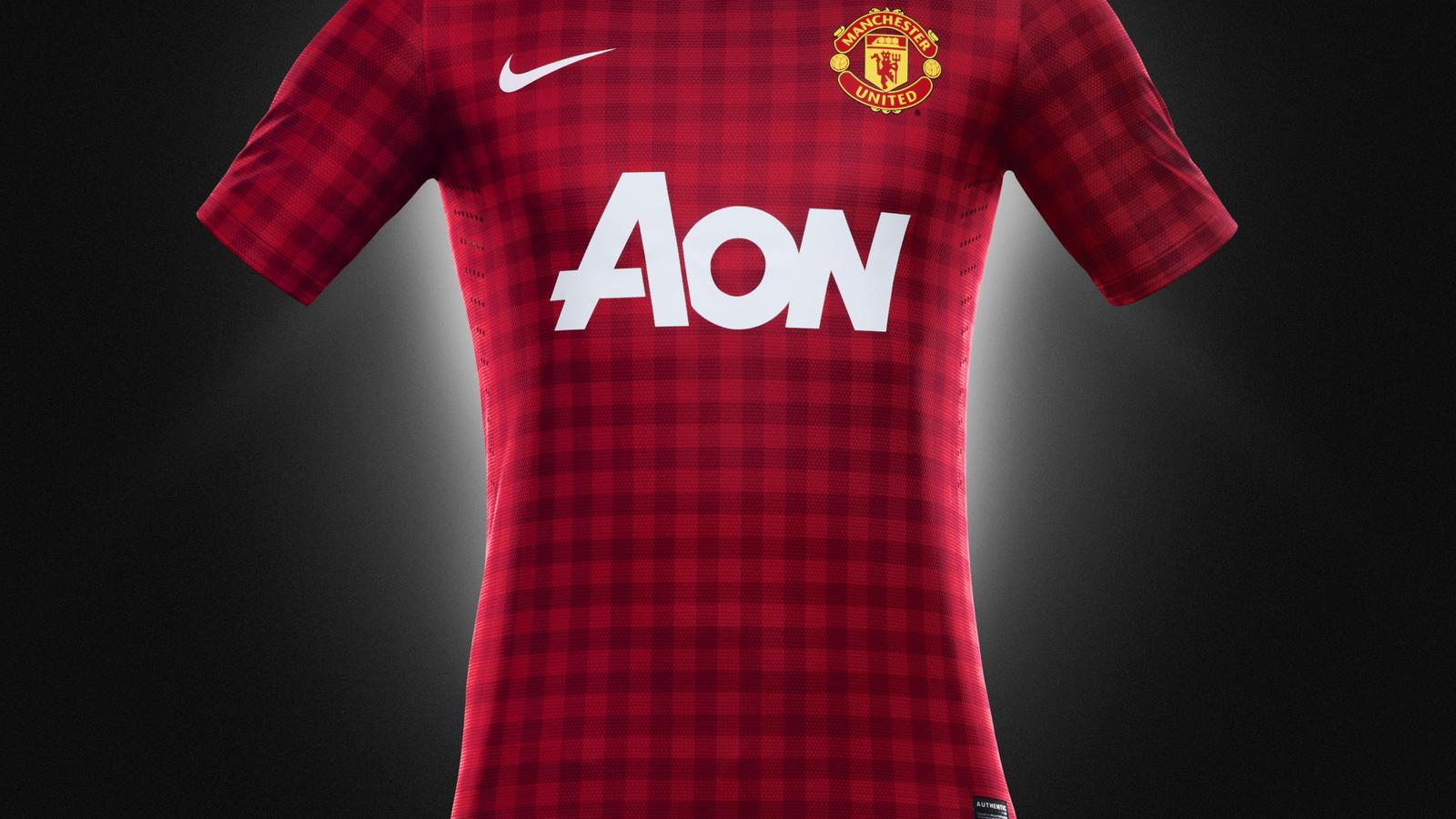 huge selection of 8d082 c28af Nike Football Unveils Manchester United Home Kit for the ...