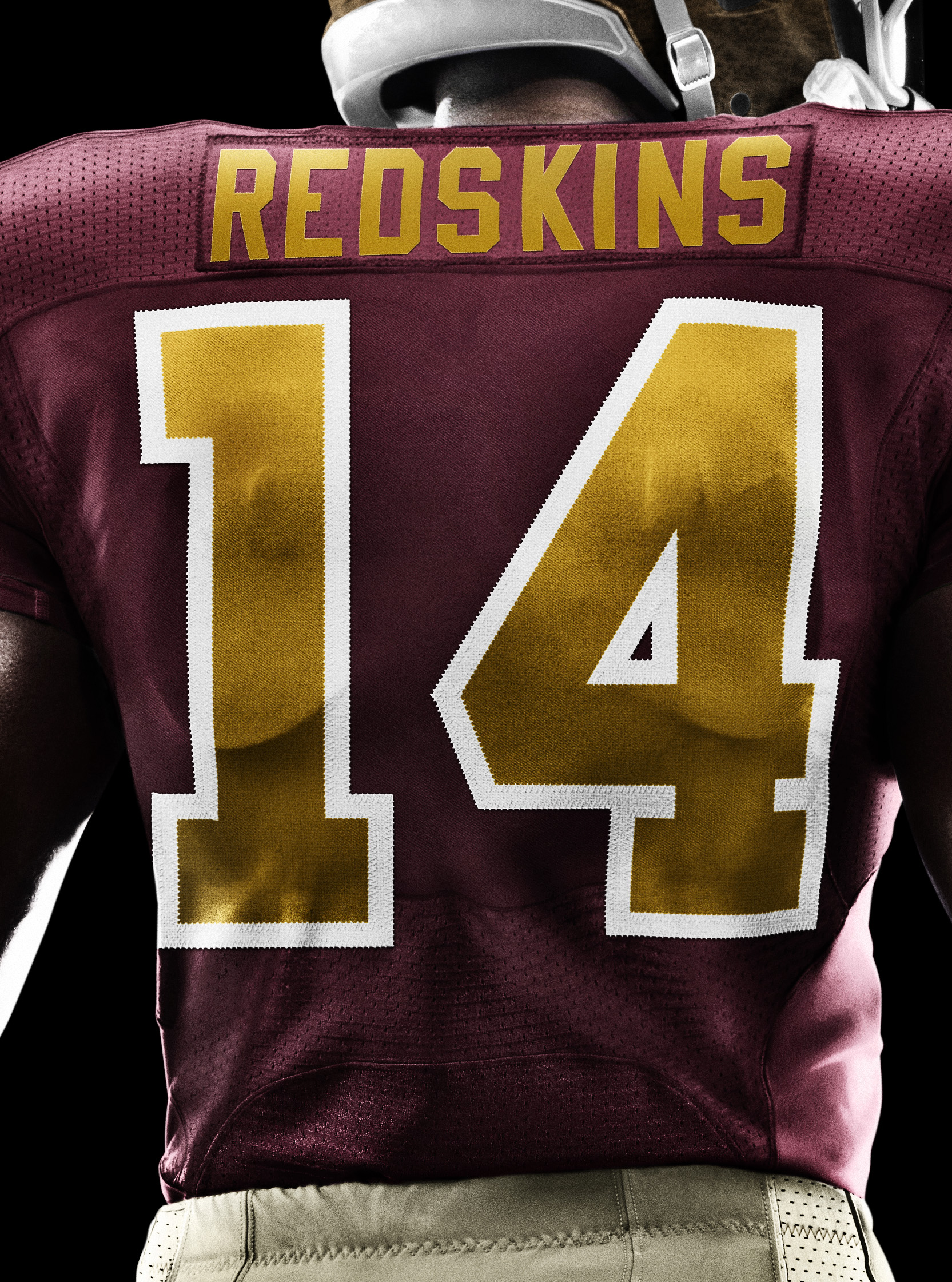 Washington Redskins Unveil New Nike Anniversary Uniform. Download Image: LO  · HI