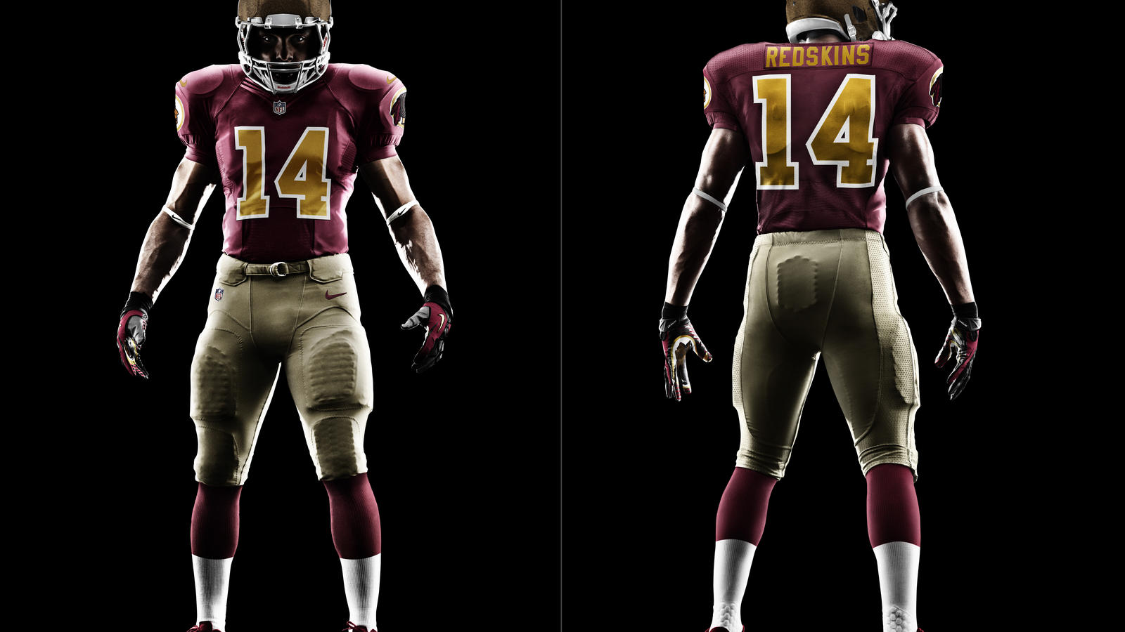 reputable site a79c7 23eb8 Washington Redskins Unveil New Nike Anniversary Uniform ...