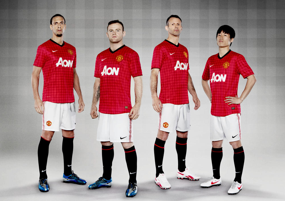 Nike Football Unveils Manchester United Home Kit for the 2012/13 season