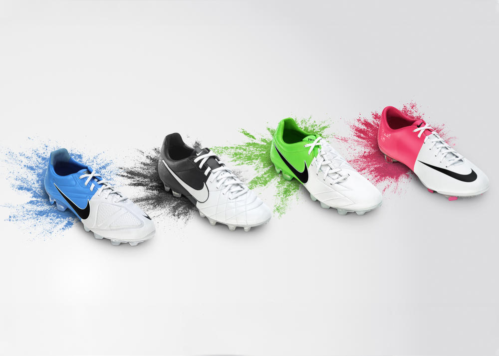 "Nike Unveils ""Nike Clash Collection"" Football Boots"