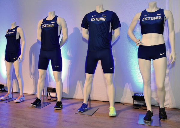 nike unveils estonian track and field uniforms and medal