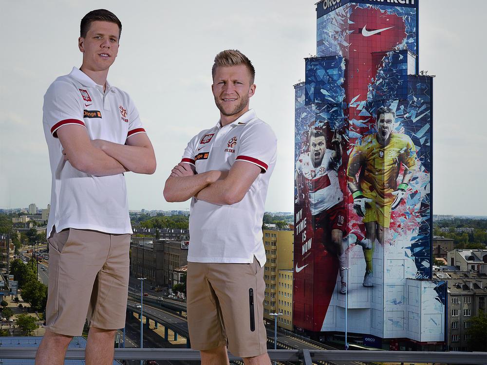 Nike celebrates national pride of Kuba, Lewandowski and Szczesny
