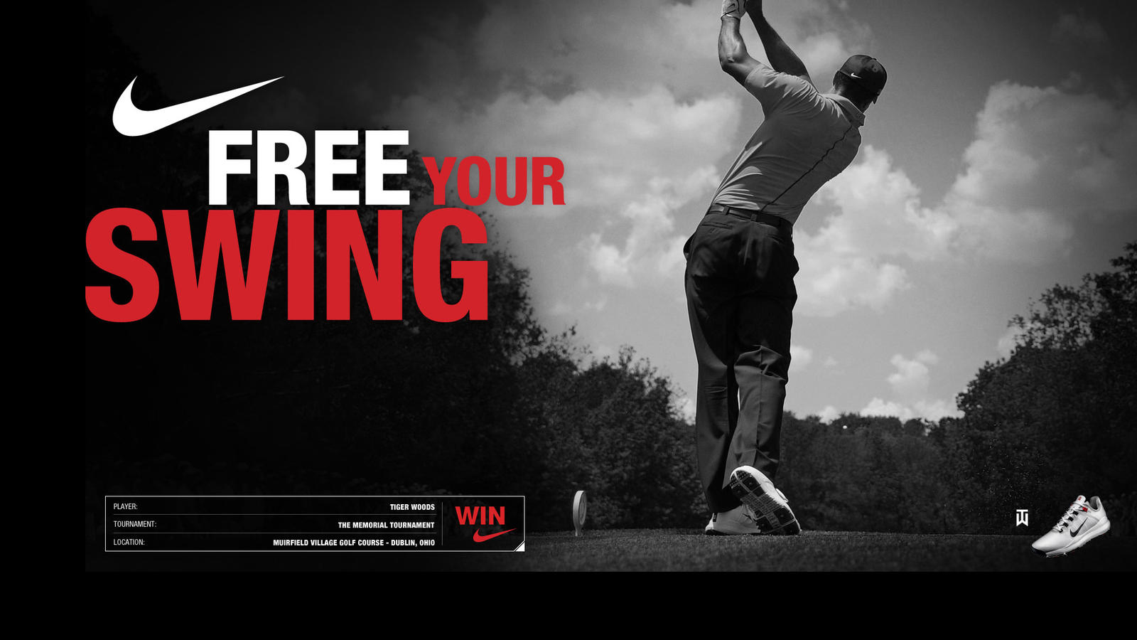 Nike Athlete Tiger Woods Secures his 73rd Win at The
