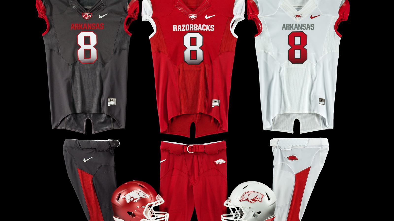 Arkansas Razorbacks Unveil New Modern Uniform Design For ...