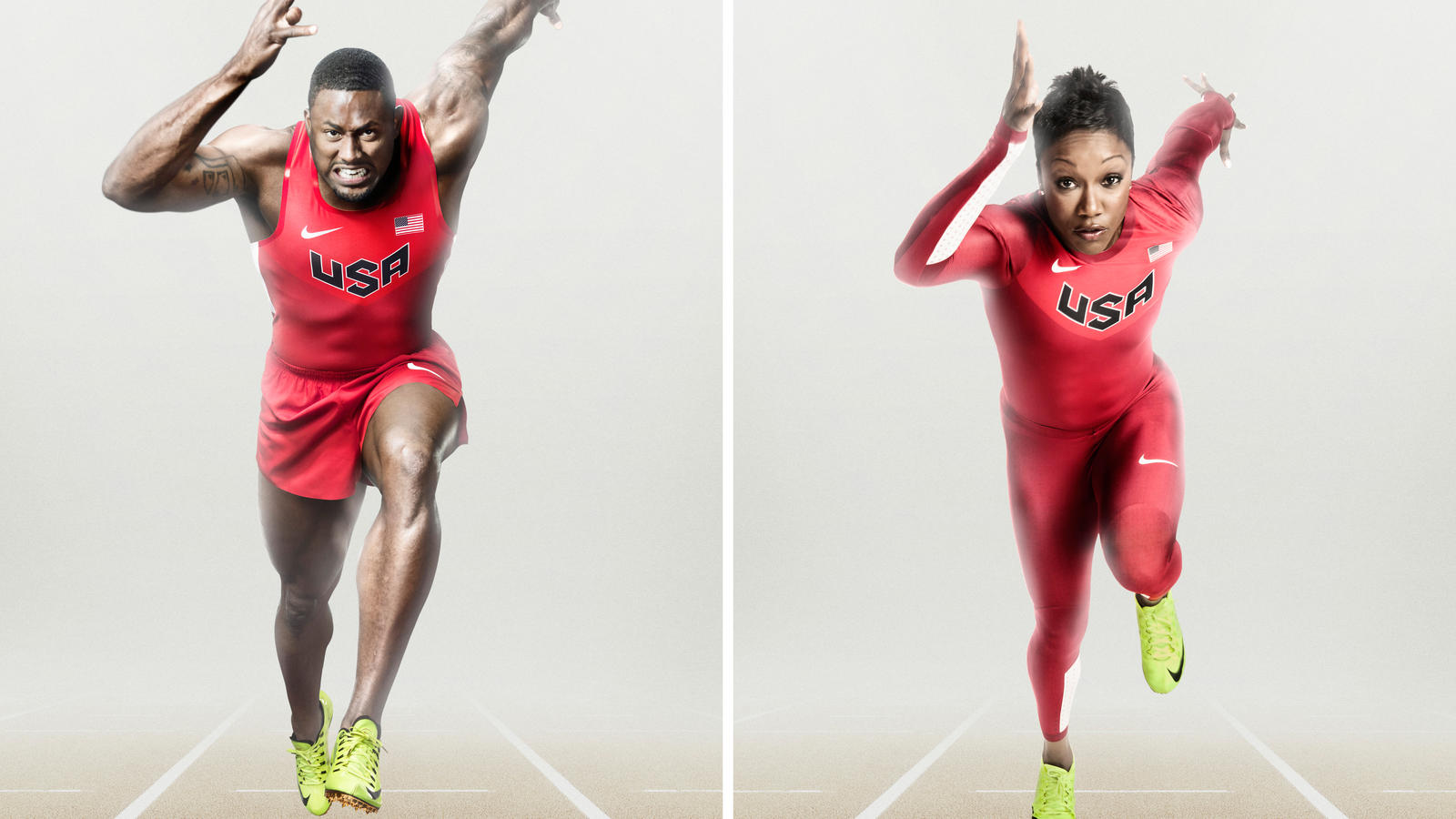 aparato revelación Regeneración  Performance, aesthetics and sustainability merge for USA Track and Field  uniforms - Nike News