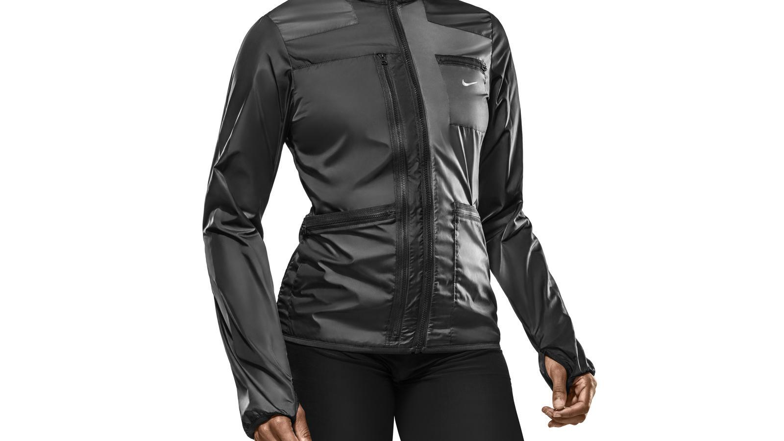 Nike woven jacke damen