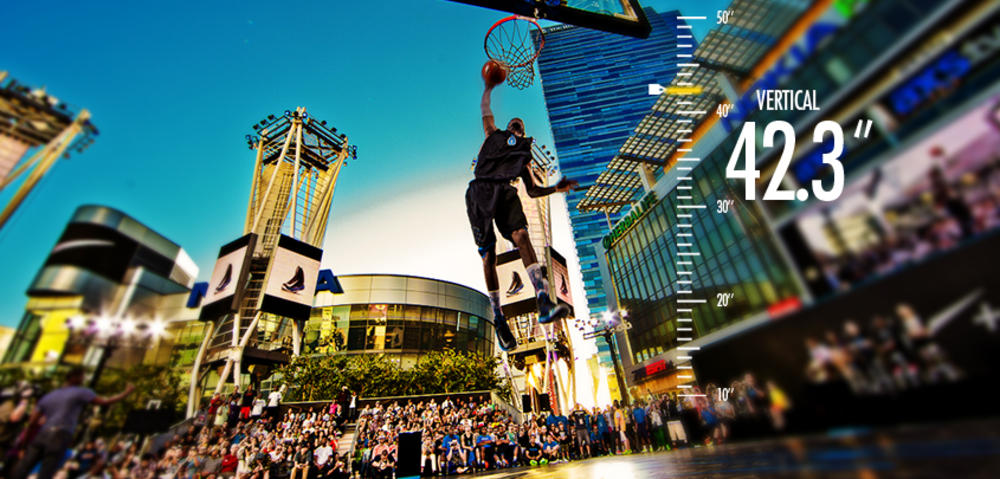 Nike+ Basketball launches with incredible 'Jus Fly' Dunk