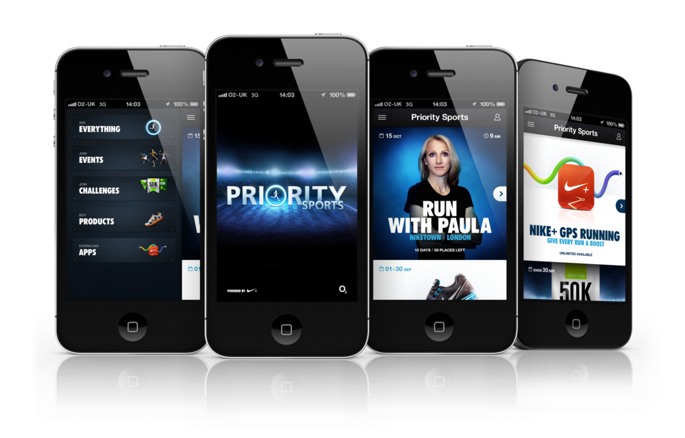 Welcome to the Club - Nike & O2 create a Priority digital sports club