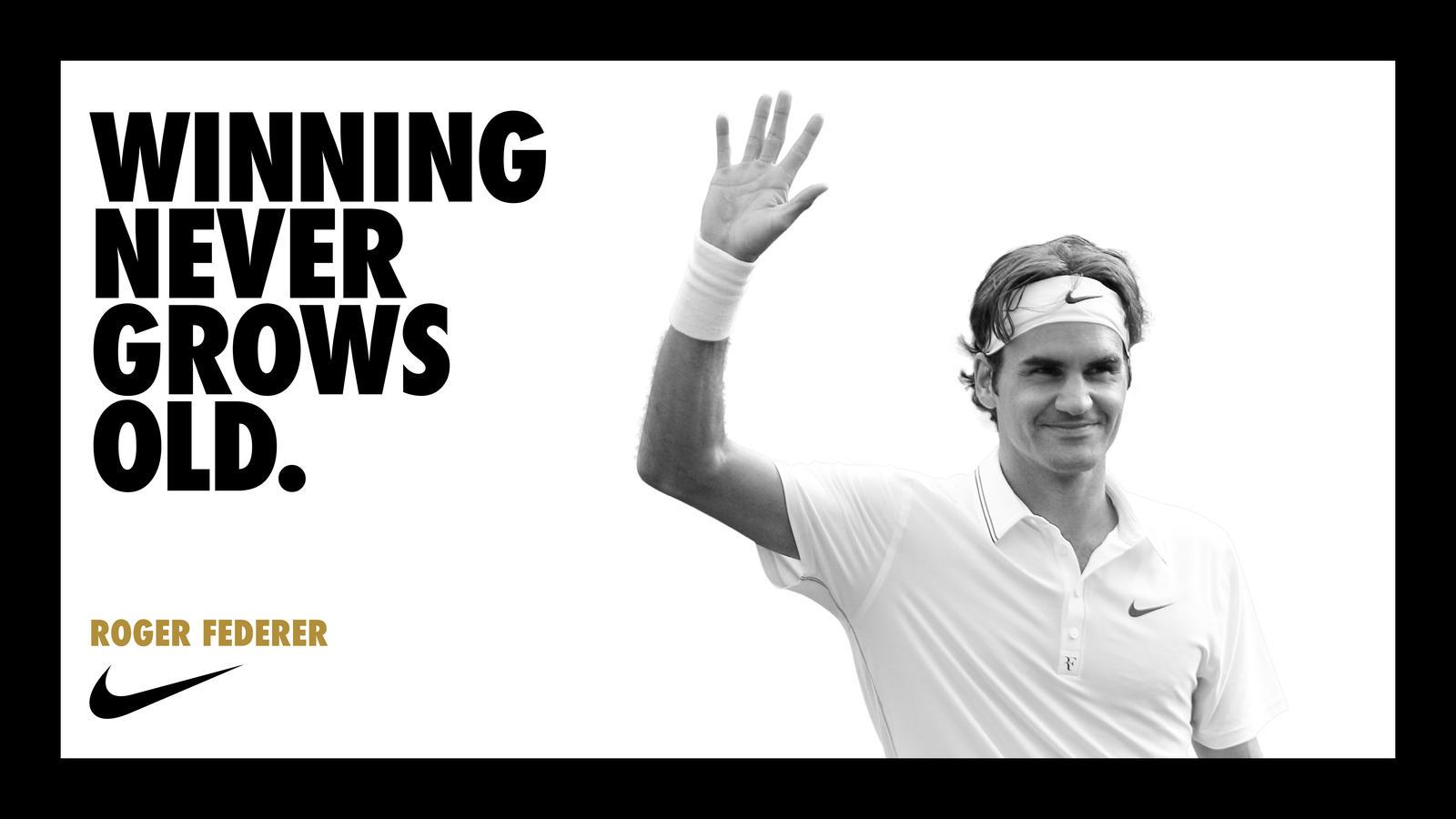 Winning Never Gets Old NIKE Tennis