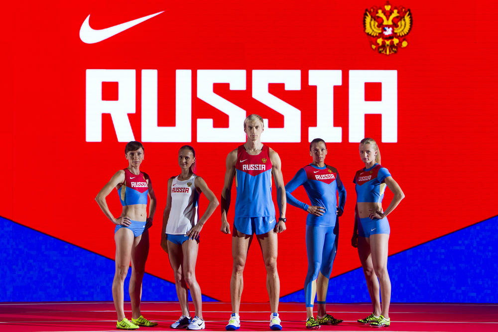 Nike Unveils Uniforms for Russian Track and Field Federation