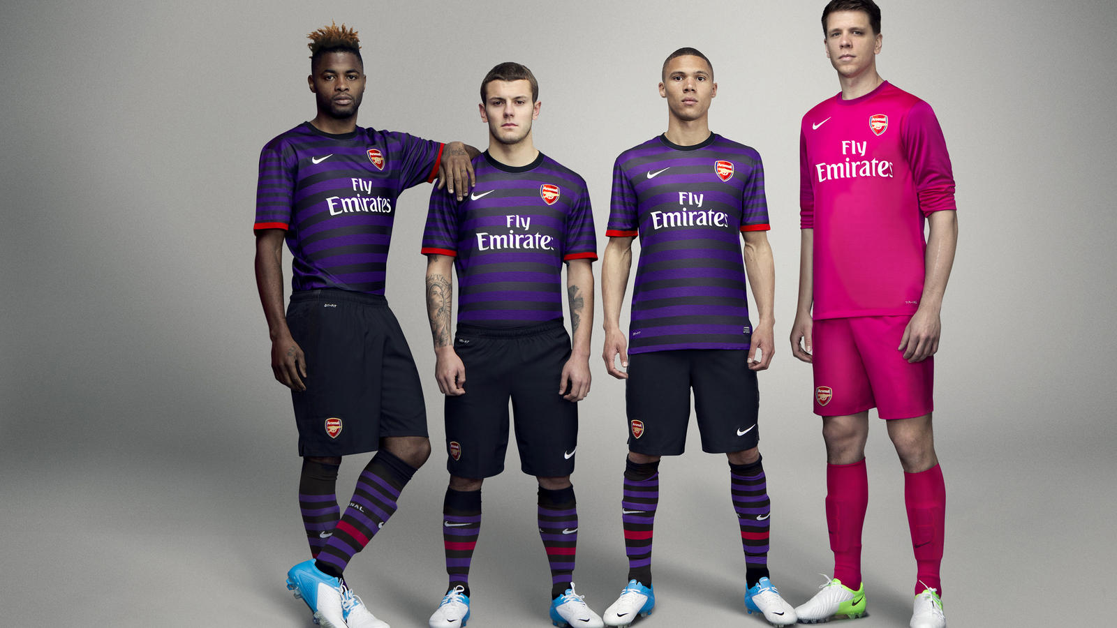 newest fd363 aefe4 Nike unveils Arsenal Football Club Away kit for 2012-13 ...