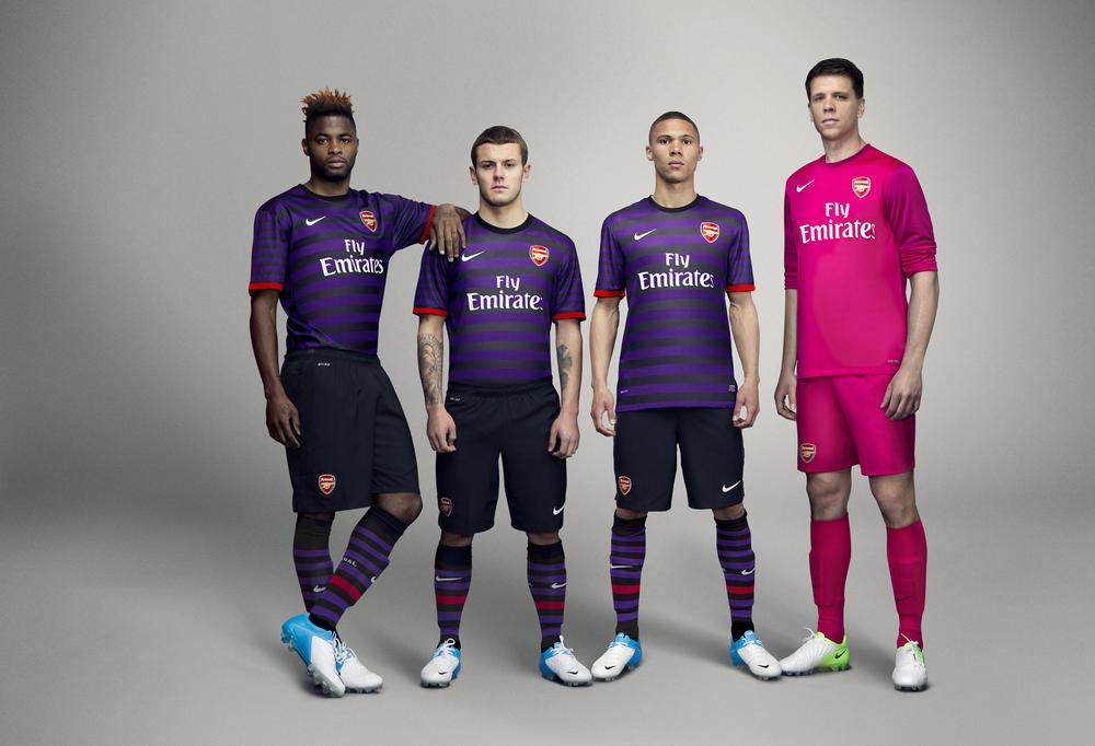Nike unveils Arsenal Football Club Away kit for 2012-13 season