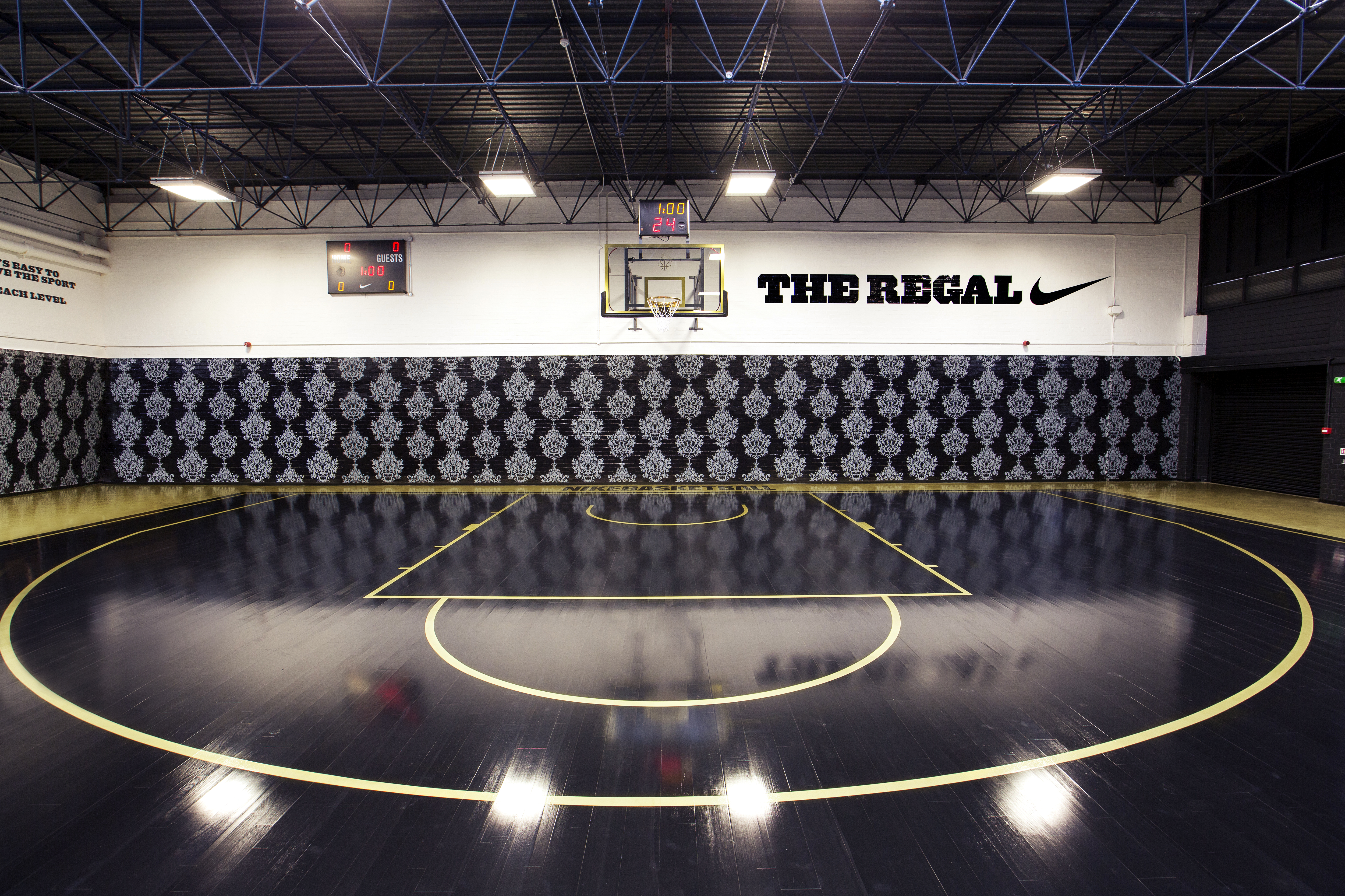 Nike Launches 'The Regal' Basketball Court - Nike News