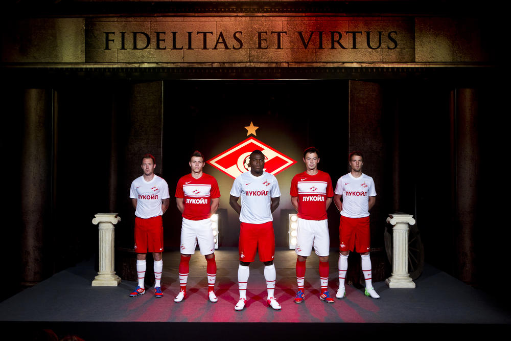 Nike football presents the new SPARTAK FC kit for 2012 - 13 season