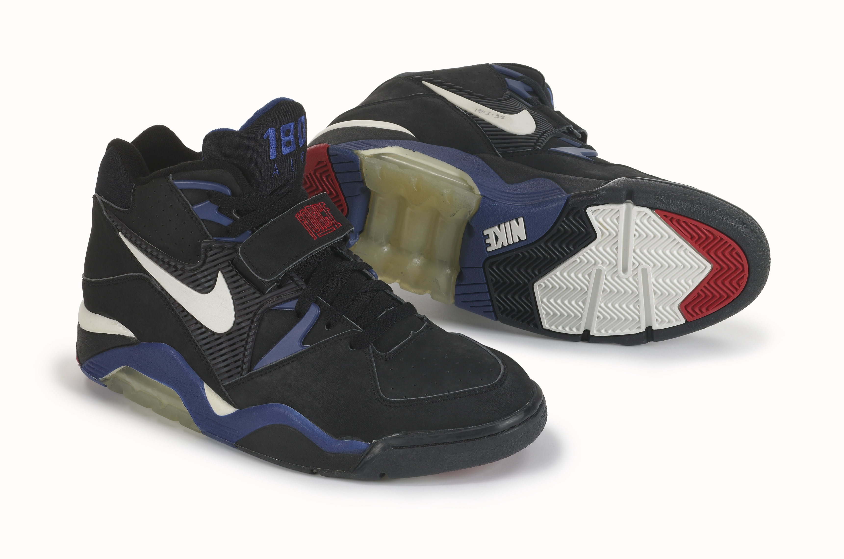 online store 00340 a18dd ... sweden nike air force 180 black air max 180 basketball shoes 8103c 958ad