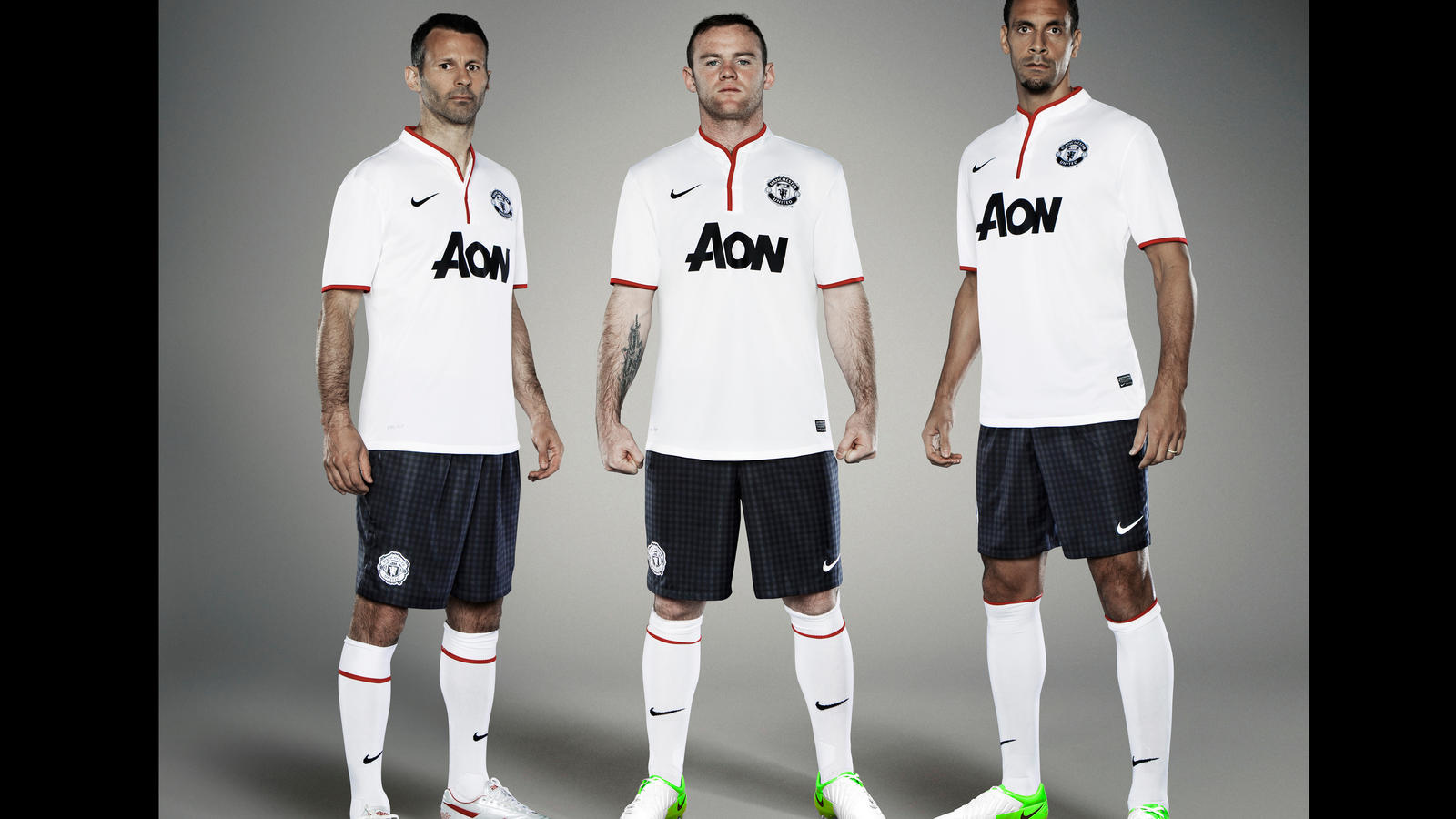 Nike Football Man U Group. Nike Football Man U Rooney Ferdinhand.  Nike Football Soccer 072012 Manchester United a23767380