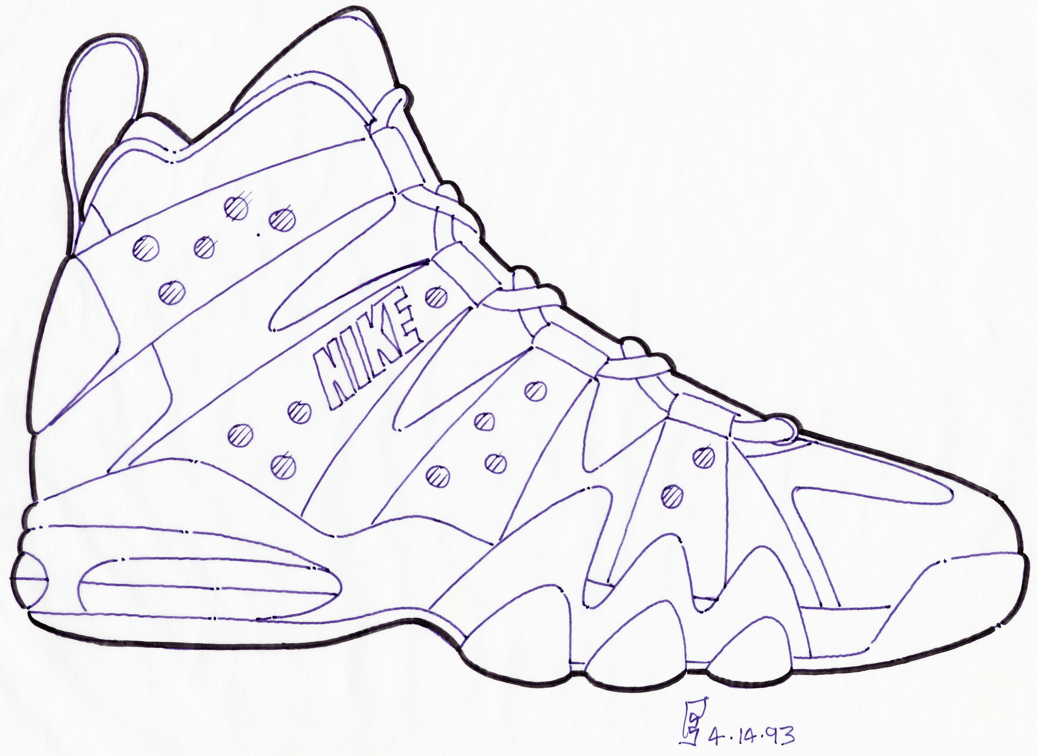 nike shoes drawings. lo · hi nike shoes drawings f