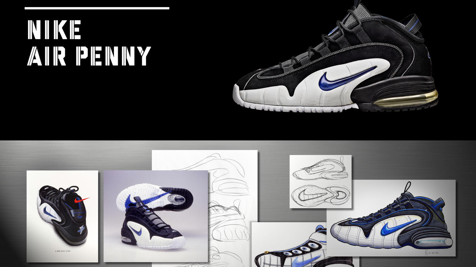 ... the Nike Air Penny was born. Share Image