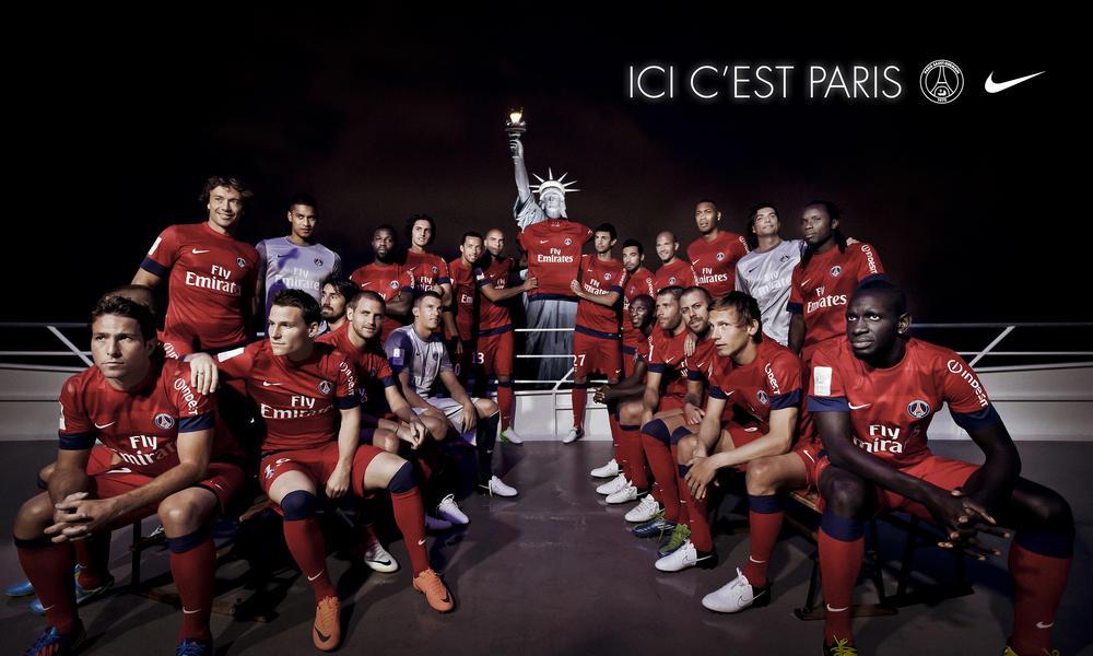 Nike unveils Paris St-Germain away kit for season 2012-13