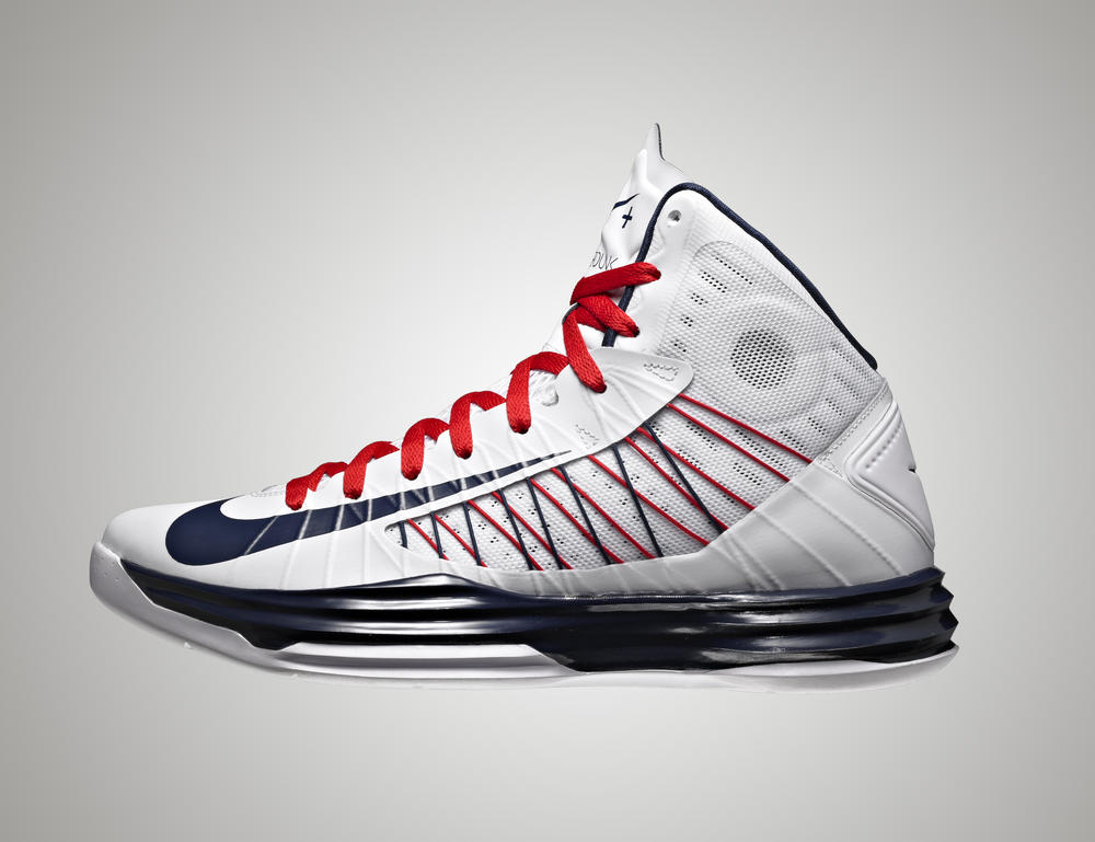 USA Men's Basketball Team Members Debut NIKEiD Shoes